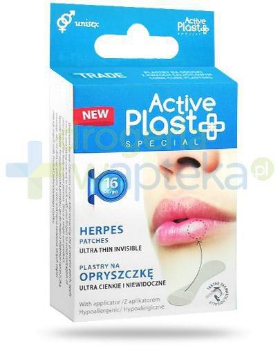 Active Plast Special plastry na opryszczkę 16 sztuk