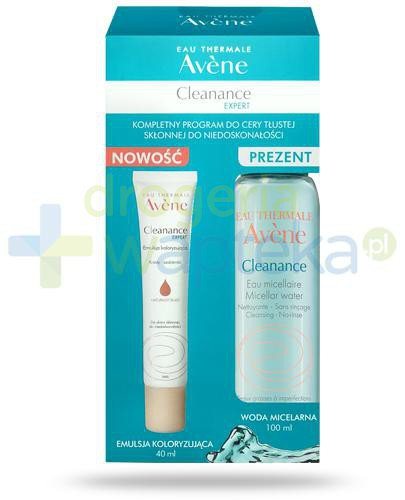 Avene Cleanance Expert, kompletny program do cery tłustej skłonnej do niedoskonałośc...  whited-out