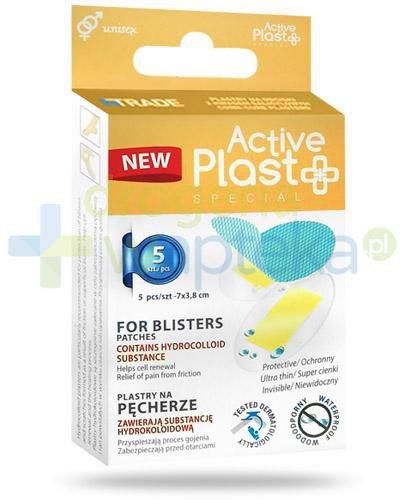 Active Plast Special plastry na pęcherze 5 sztuk