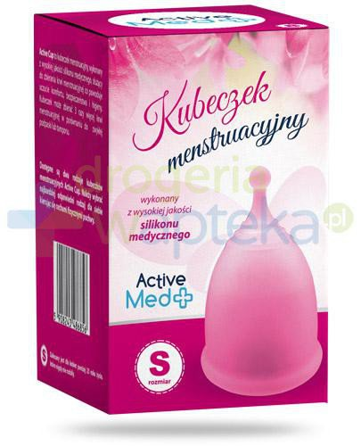 Active Med kubeczek menstruacyjny romiar S, różowy 1 sztuka