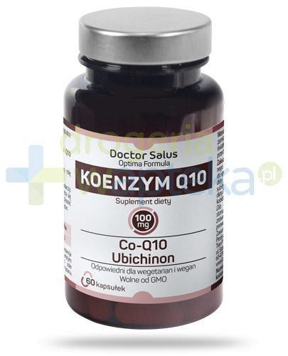 Doctor Salus Koenzym Q10 100mg 60 kapsułek  whited-out