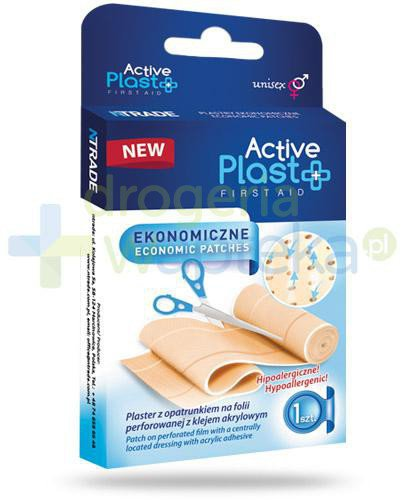 Active Plast First Aid plastry ekonomiczne 1 sztuka  whited-out