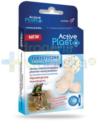 Active Plast First Aid plastry turystyczne 16 sztuk