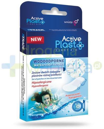 Active Plast First Aid plastry wodoodporne 16 sztuk