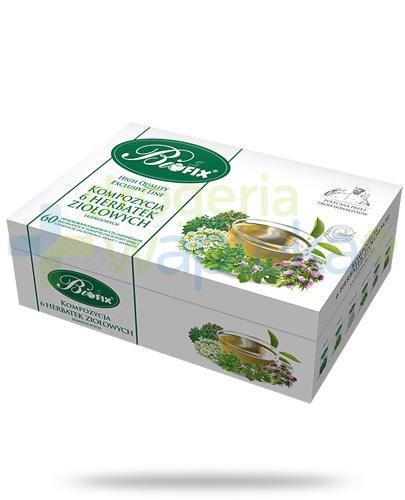BiFix Kompozycja 6 herbat ziołowych 60x 2 g