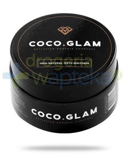 Coco Glam węgiel aktywny do wybielania zębów, proszek 30 g  whited-out