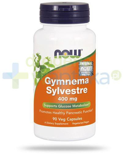 NOW Foods Gymnema Sylvestre 400mg ekstrakt 90 kapsułek