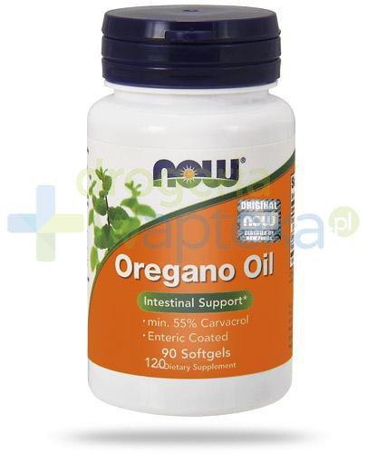 NOW Foods Oregano Oil 90 kapsułek