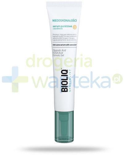 Bioliq Specialist Niedoskonałości serum punktowe z korektorem 10 ml