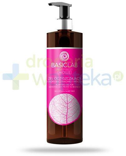 BasicLab Micellis żel oczyszczający do skóry naczynkowej i wrażliwej 300 ml