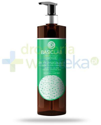 BasicLab Micellis żel oczyszczający do skóry tłustej i wrażliwej 300 ml