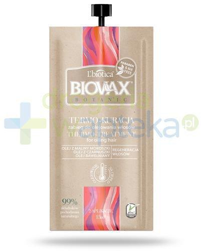 Biovax Botanic Termo-Kuracja zabieg do olejowania włosów 15 ml