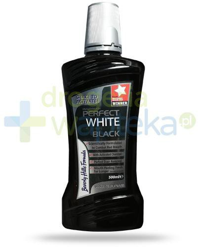 Beverly Hills Formula Perfect White Black płyn do płukania jamy ustnej 500 ml