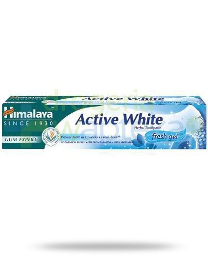 Himalaya Gum Expert Active White żelowa pasta do zębów 75 ml