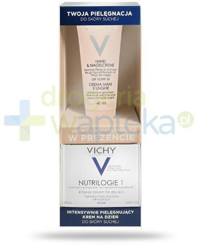 Vichy Nutrilogie 1 Intensywnie pielęgnujący krem na dzień 50 ml + Vichy Ideal Body kre...
