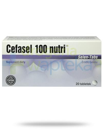 Cefasel 100 Nutri Selen 20 tabletek