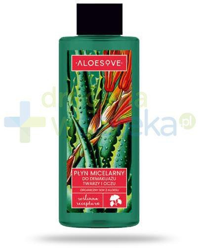 Sylveco Aloesove płyn micelarny do demakijażu twarzy i oczu 200 ml
