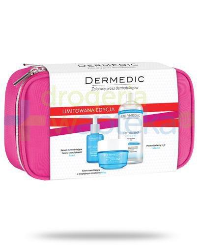 Dermedic Hydrain3 Hialuro krem nawilżający o dogłębnym działaniu 50 g + serum nawadni...