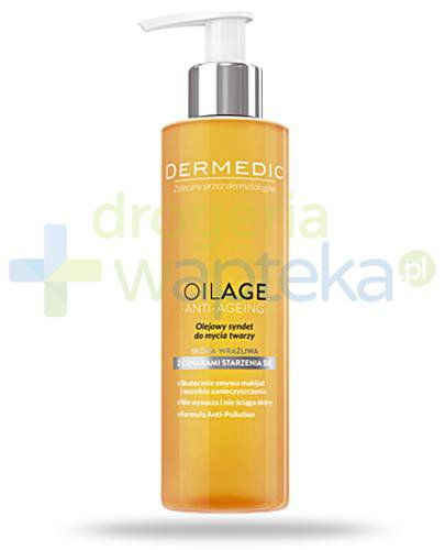 Dermedic Oliage Anti-Ageing olejowy syndet do mycia twarzy 200 ml