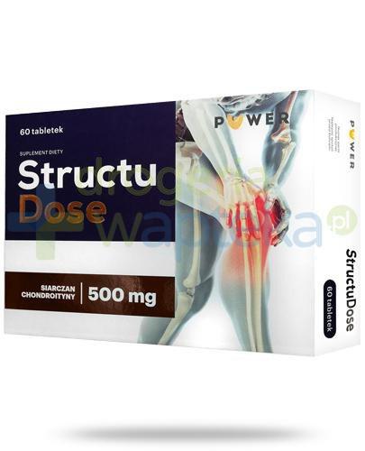 Puwer Structu Dose, siarczan chondroityny 500mg 60 tabletek