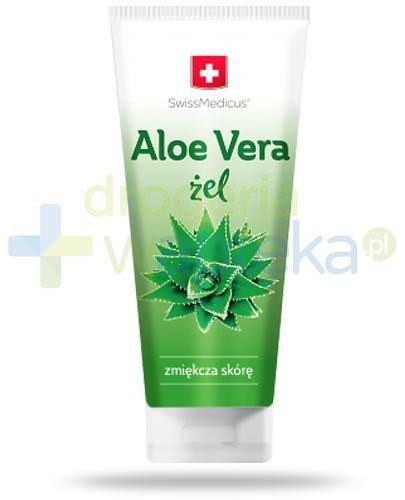 SwissMedicus® Aloe Vera żel zmiękczający skrórę 200 ml