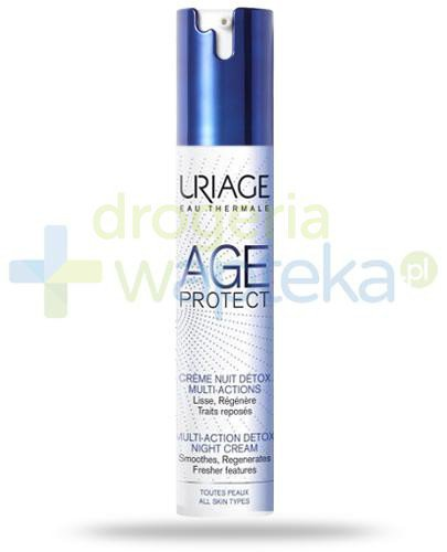 Uriage Age Protect detoksykujący krem multiaction na noc 40 ml
