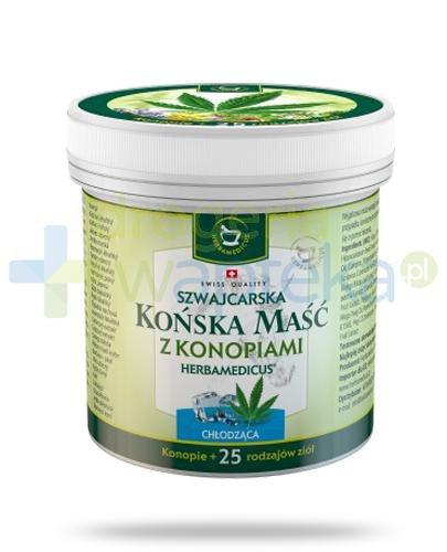 Herbamedicus Końska maść chłodząca z konopiami 250 ml