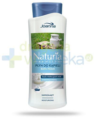 Joanna Naturia Family kremowy płyn do kąpieli z kozim mlekiem 750 ml
