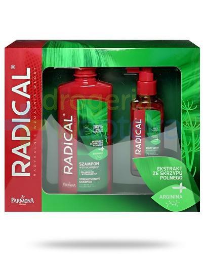 Farmona Radical szampon wzmacniający z argininą do włosów osłabionych i wypadającyc...