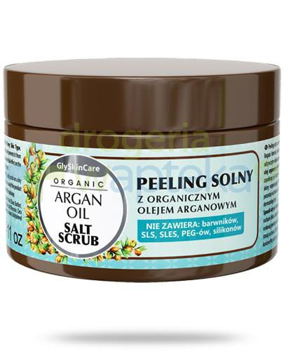 GlySkinCare Argan Oil peeling solny z organicznym olejem arganowym 400 g