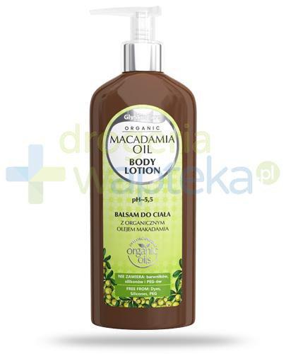 GlySkinCare Macadamia Oil balsam do ciała z organicznym olejem makadamia 250 ml