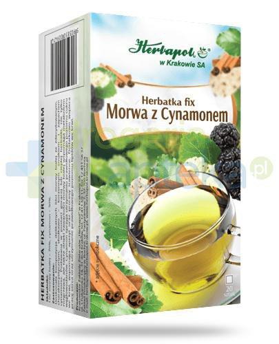 Herbapol Herbatka fix Morwa z cynamonem 20 saszetek