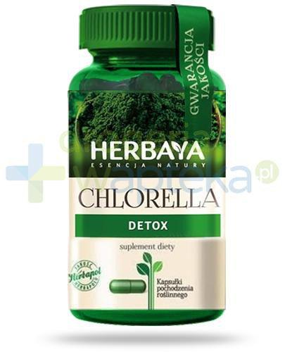 Herbaya Chlorella Detox 60 kapsułek