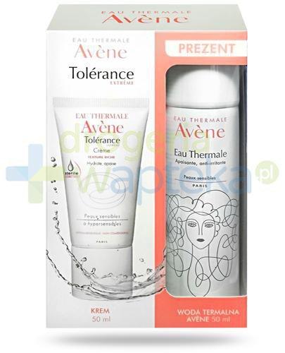 Avene Tolerance Extreme krem nawilżająco-kojący bogata konsystencja 50 ml + łagodząc...