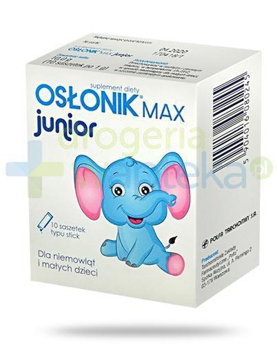 Osłonik Max Junior 10 saszetek  whited-out