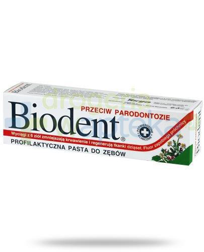 Biodent pasta do zębów przeciw paradontozie 125 g