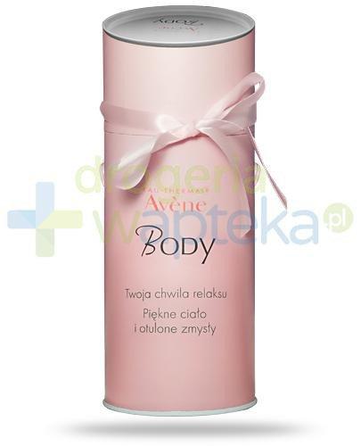 Avene Body otulający balsam nawilżający 250 ml + Avene Body łagodny peeling 200 ml [ZE...  whited-out