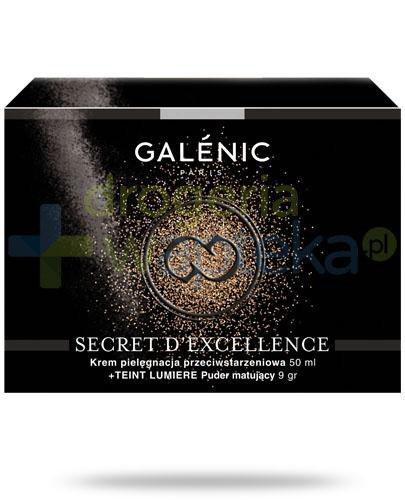 Galenic Secret D'Exellence krem odmładzający z algą śnieżną 50 ml + Teint Lumiere pu...