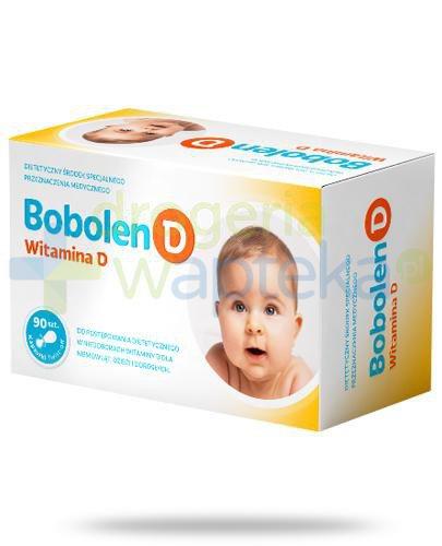 Bobolen D witamina D 400 90 kapsułek