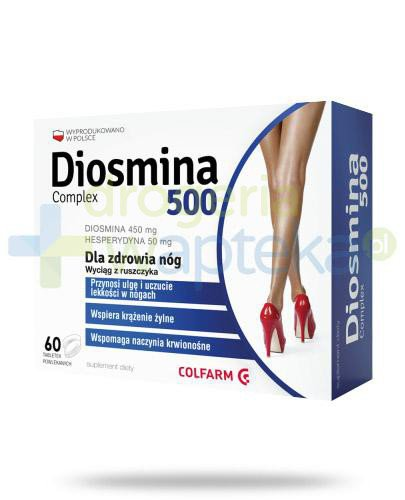 Colfarm Diosmina 500 Complex 60 tabletek
