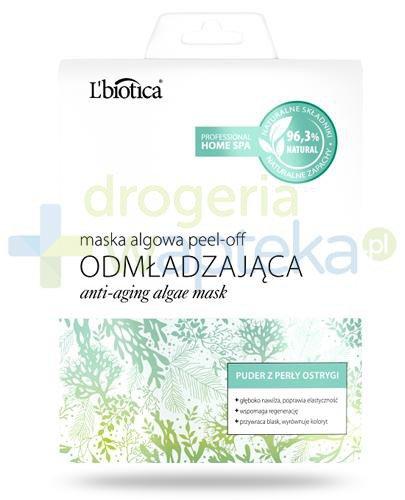 Lbiotica Peel-Off maska algowa Odmładzająca puder z perły ostrygi 12 g