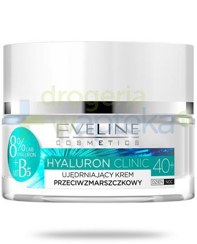 Eveline Hyaluron Clinic 40+ ujędrniający krem przeciwzmarszczkowy na dzień i na noc 50 ...