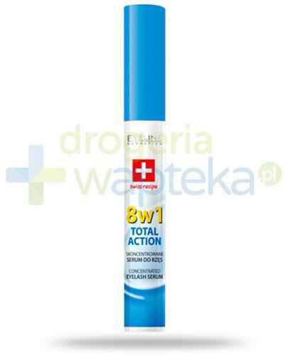 Eveline Lash Therapy Total Action 8w1 skoncentrowane serum do rzęs 10 ml