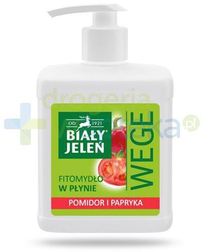 Biały Jeleń Wege fitomydło w płynie z pomidorem i papryką 500 ml