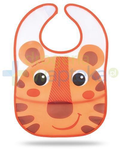 Canpol Babies Hello Little śliniak z wywijaną kieszonką dla dzieci 6m+ 1 sztuka [9/233p...  whited-out