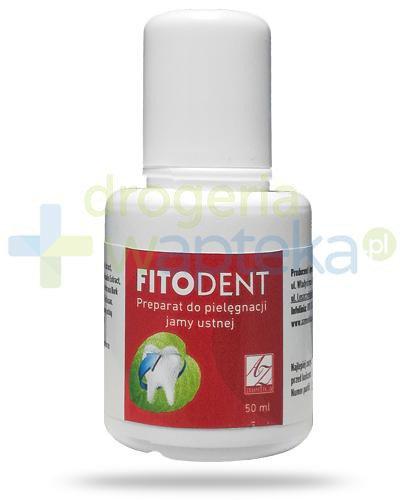 A-Z FitoDent płyn do płukania jamy ustnej 50 ml  whited-out
