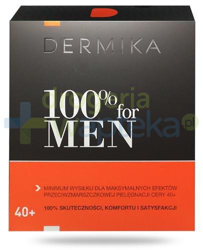 Dermika 100% For Men, zestaw dla mężczyzn 40+ [ZESTAW]