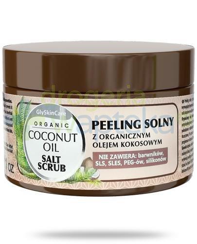 GlySkinCare Coconut Oil peeling solny z organicznym olejem kokosowym 400 g