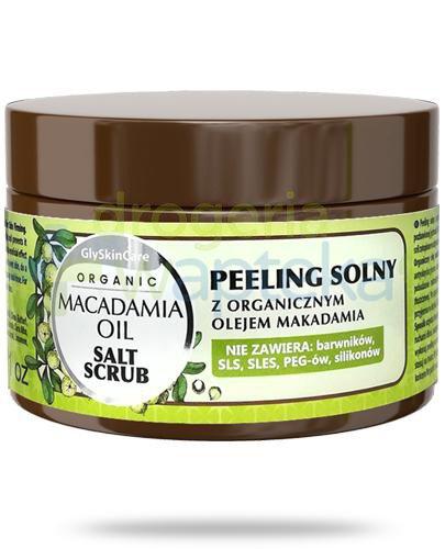 GlySkinCare Macadamia Oil peeling solny z organicznym olejem makadamia 400 g