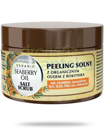 GlySkinCare Seaberry Oil peeling solny z organicznym olejem z rokitnika 400 g